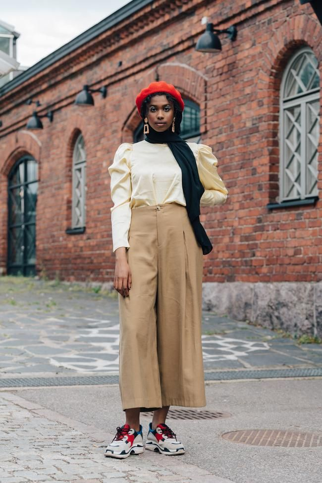 Photo of The best street style from Helsinki fashion week spring/summer 2020