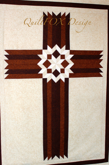 Carpenters Star Christian Cross 42 Quilts And Fabric