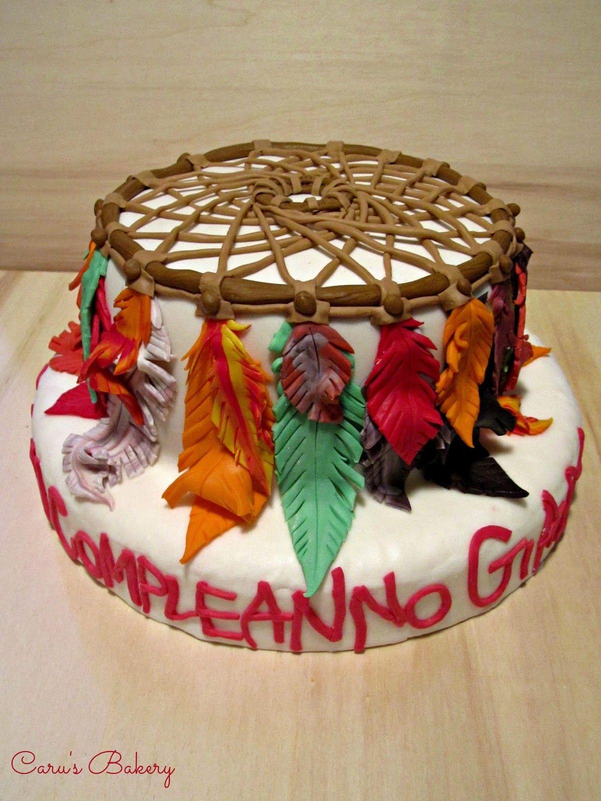 Caru's Bakery Dreamcatcher Cake Torte