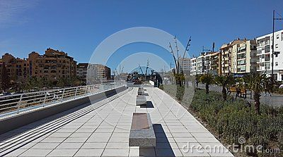 Boulevard With Bench - San Pedro De Alcantara - Download From Over 31 Million High Quality Stock Photos, Images, Vectors. Sign up for FREE today. Image: 53133396