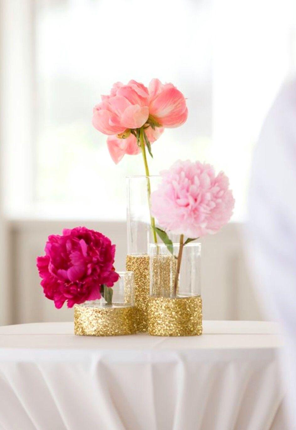 Pink Glitter Flowers Love 3 Pinterest Glitter Flowers And Wedding