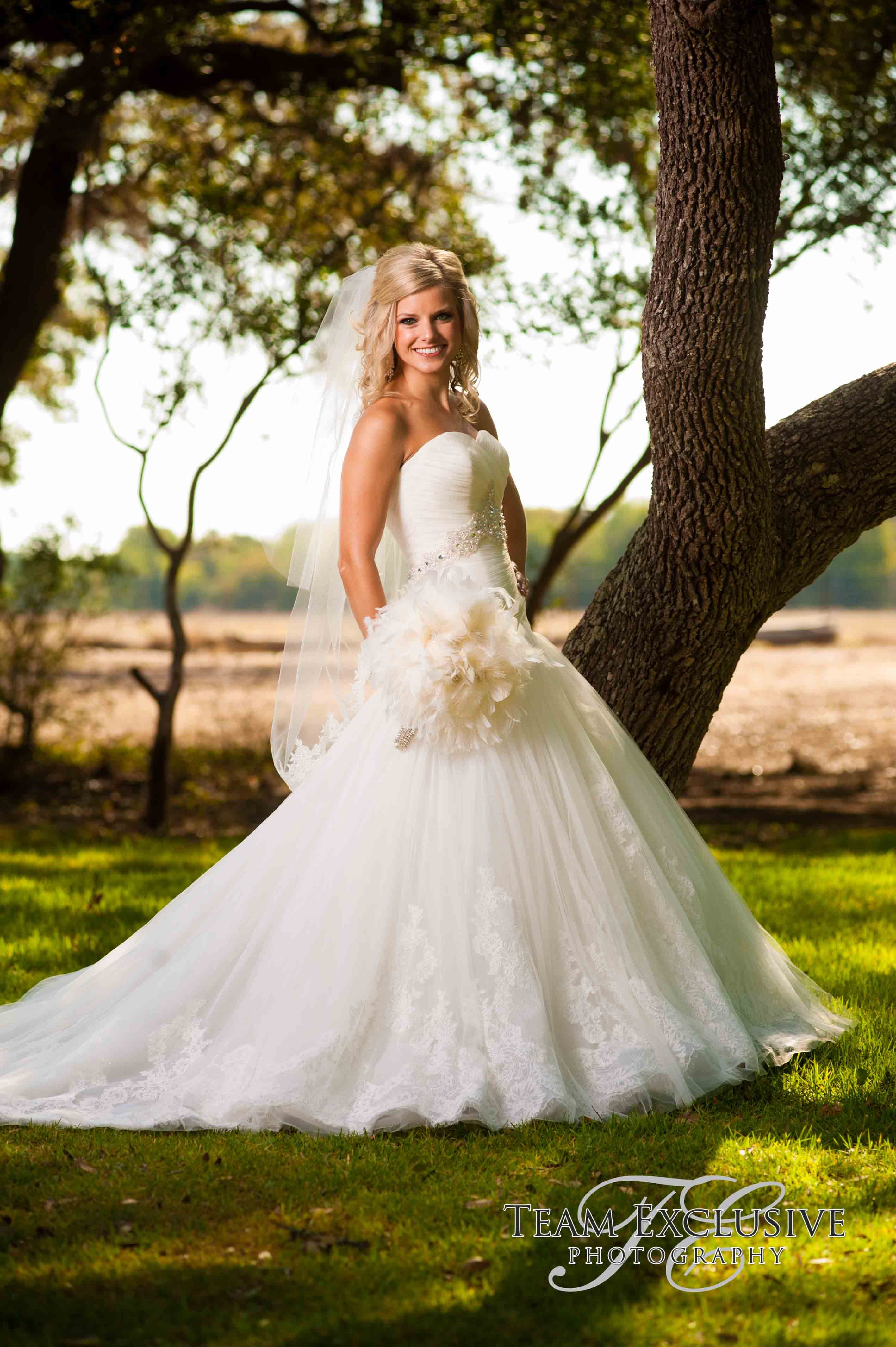 The Marquardt Ranch Hill Country Weddings Bridal Portraits