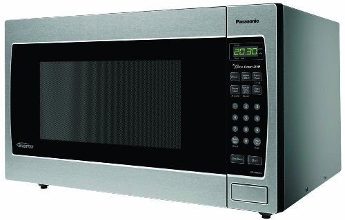 Panasonic Genius Nn Sn773s 1 6 Cuft 1250 Watt Microwave With Inverter Technology Stainless Steel Inverter Microwave Built In Microwave Built In Microwave Oven