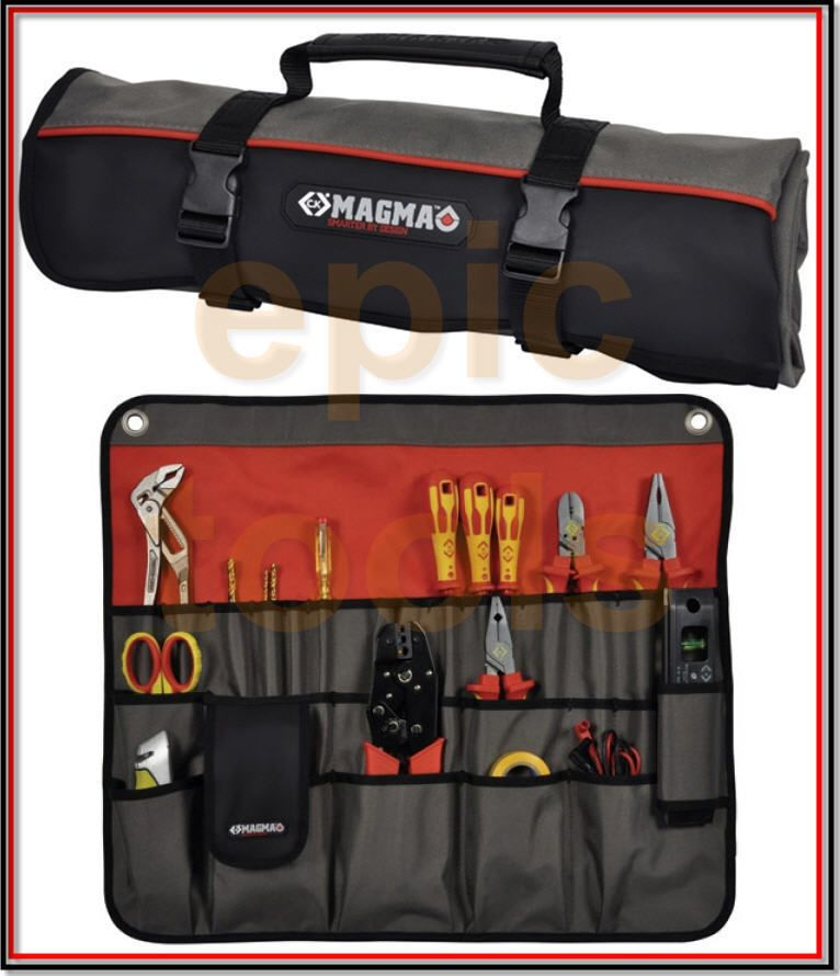 CK Magma 30 Tools Tool Plier Screwdriver Pocket Roll Pouch Bag Case MA2718
