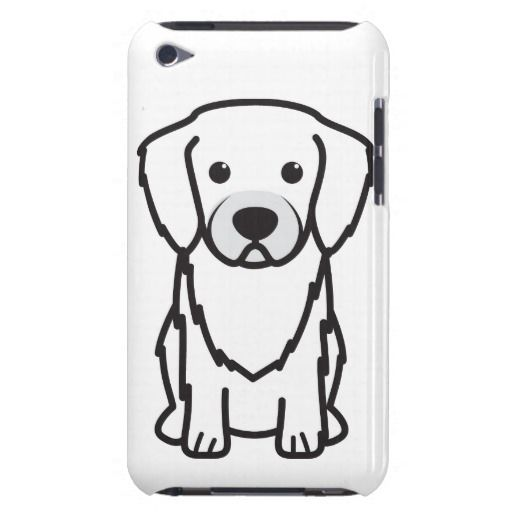 Tibetan Spaniel Dog Cartoon Barely There iPod Cover