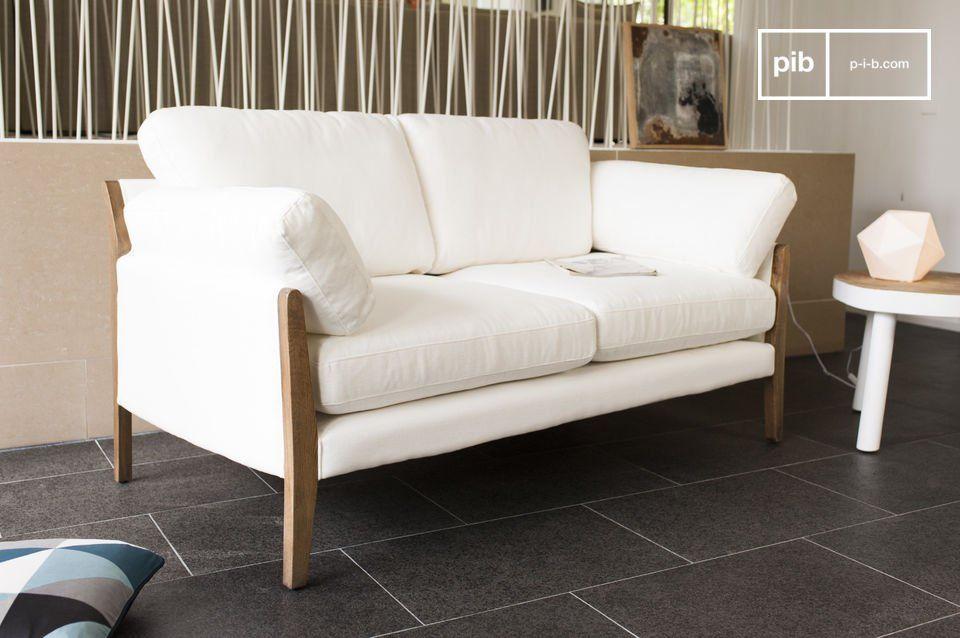 Arredamento Elegante ~ Il divano bianco ariston è un arredamento da salotto che trasuda