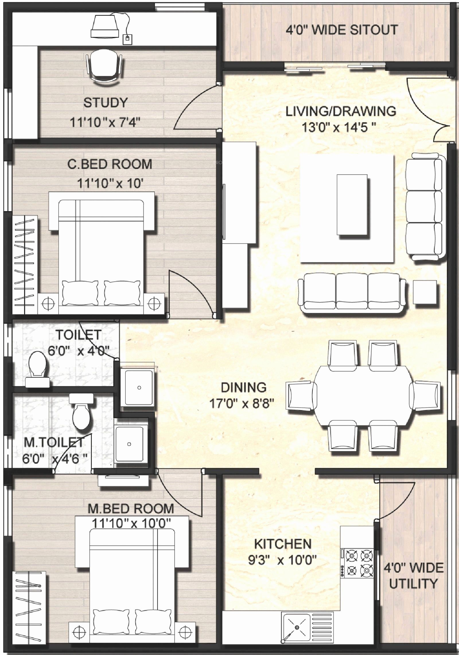 2 Bhk Home Design In India New 21 Artistic Home Plans Indian 2bhk That Can Make Your Home In 2020 Model House Plan Indian House Plans 1200 Sq Ft House
