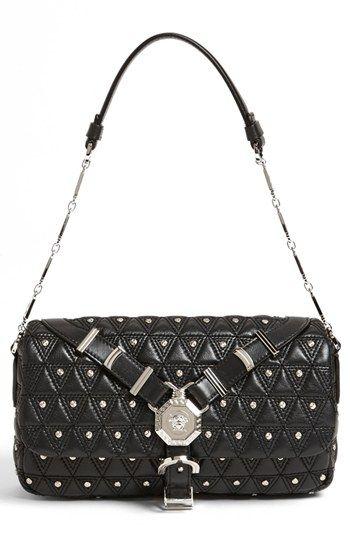 f9cb33ed49b Versace 'Vanitas' Leather Flap Shoulder Bag | Nordstrom | Bags and ...
