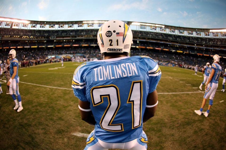 Lt Ladainian Tomlinson San Diego Chargers Ladainian Tomlinson San Diego Chargers Football
