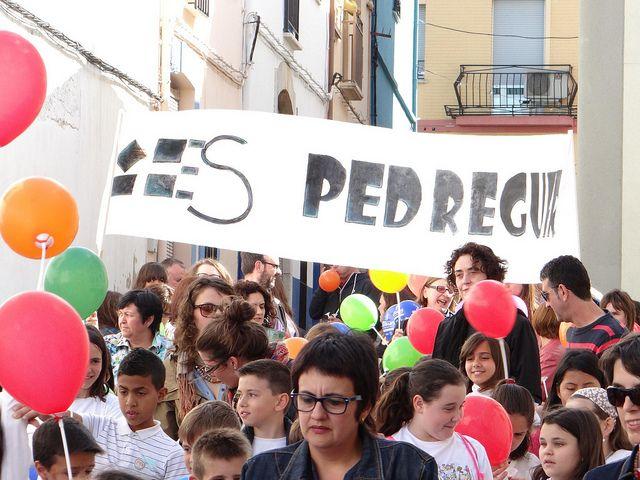 01 - Cercavila Trobades d'Escoles en Valencià 2013 a Pedreguer (344) Foto: laveupv.com