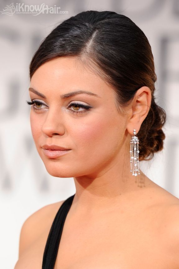 How to get the red carpet hairstyle romantic updo like mila how to get the red carpet hairstyle romantic updo like mila kunis celebrity hairstyle pmusecretfo Image collections