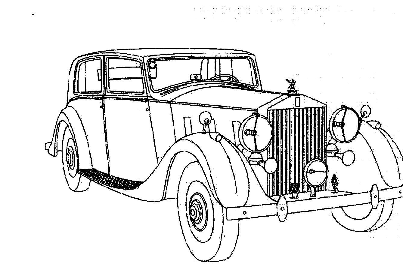 Download And Print Luxury Beautiful Classic Car Design Coloring Pages