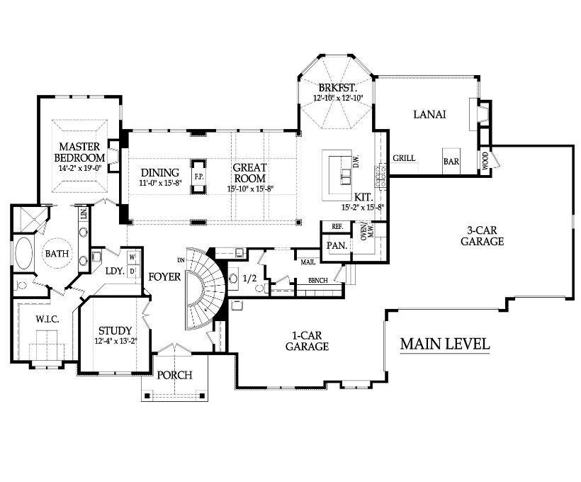 Aspen ridge reverse floor plan designs starr homes for Reverse floor plan