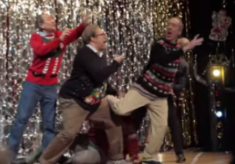 Ugly Christmas sweater dads and a breastfeeding parody: the best in parenting this week | Bundoo