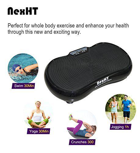 6971e2a6ae fine NexHT Fitness Vibration Platform Whole Body Shape Exercise Machine (89006A)