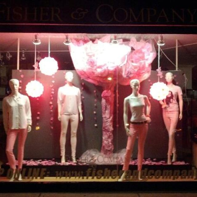 Paint it Pink Richmond Row  Fisher and Company London Ontario
