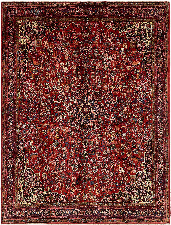 Red 9 X 11 10 Bidjar Persian Rug Rugs
