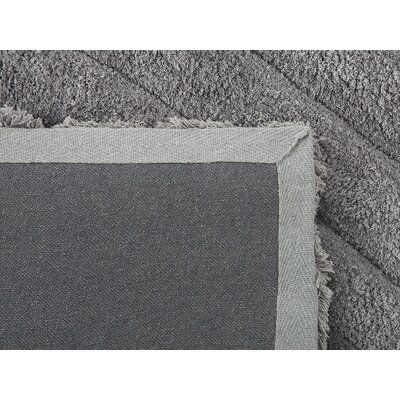 Home Loft Concepts Ordu Hand-Tufted Gray Area Rug Rug Size: 2'7