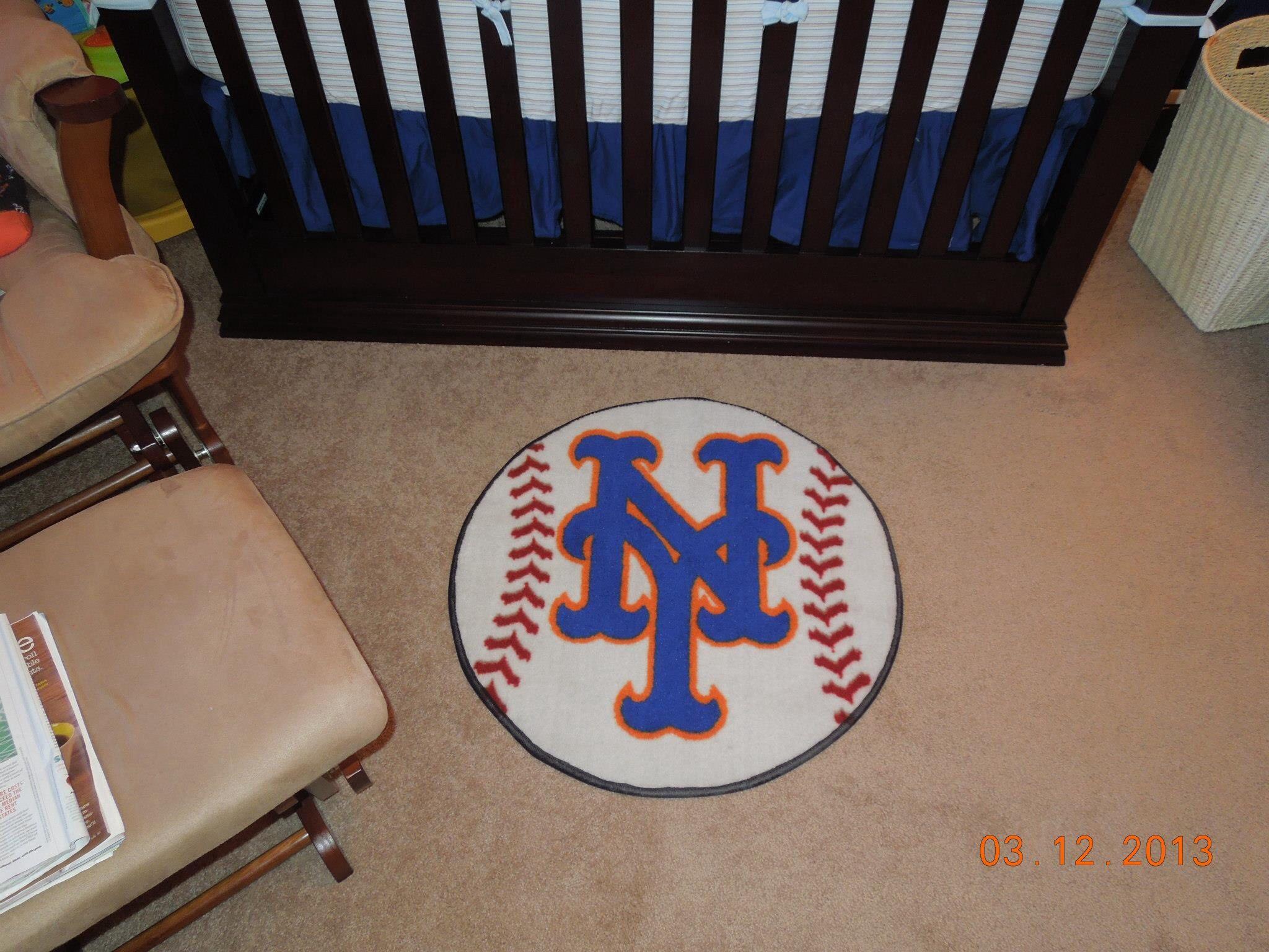 New York Mets Baseball Nursery