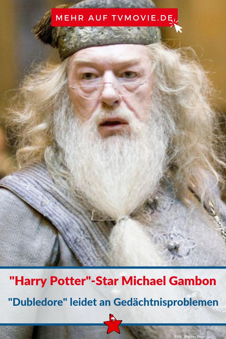 Harry Potter Star Michael Gambon Alias Dumbledore Verliert Rolle Wegen Gedachtnisproblemen Star Wars Harry Potter Darsteller
