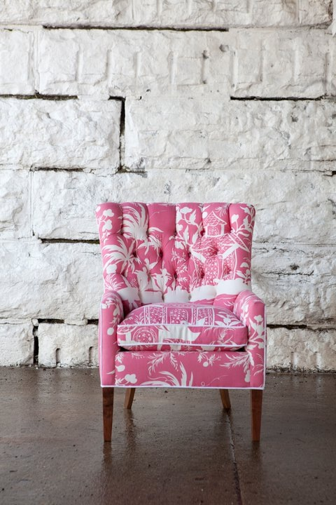 Sarah Richardson designed upholstered chair   I could live with this ...