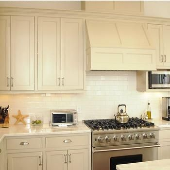 Image Result For Cream Cabinets With White Backsplash Plan B