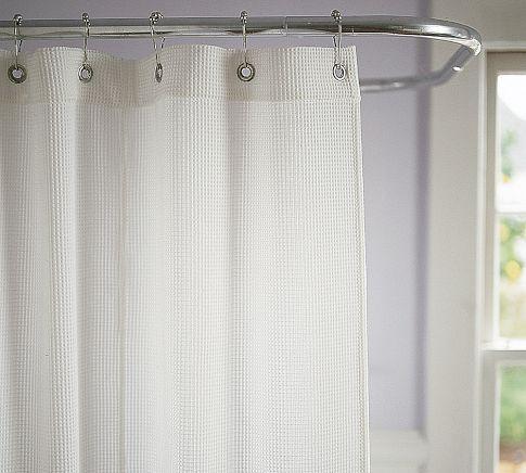 Waffleweave Shower Curtain Waffle Weave Shower Curtain Curtains