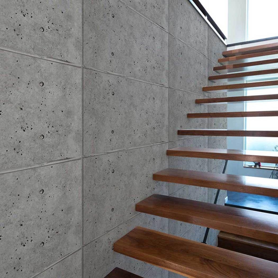 Urban Concrete 24 Concrete Interiors Concrete Wall Panels Staircase Design