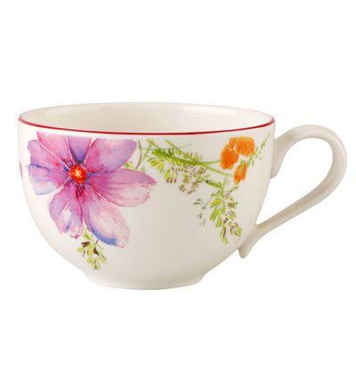 Villeroy Boch Tasse A Cafe Mariefleur Basic In 2020 Tea Cups Dinnerware Breakfast Cups