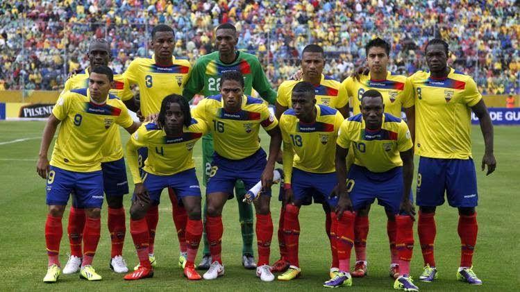 cee927835 FlagWigs  Ecuador national football team road to Brazil Worl ...