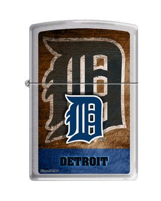 Zippo Lighter - MLB Detroit Tigers Brushed Chrome ZCI005647 - $23.95. Zippo Promo: ZIPPO2013 - 3% off all Zippo Products. Free Shipping. No Minimum. 24/7