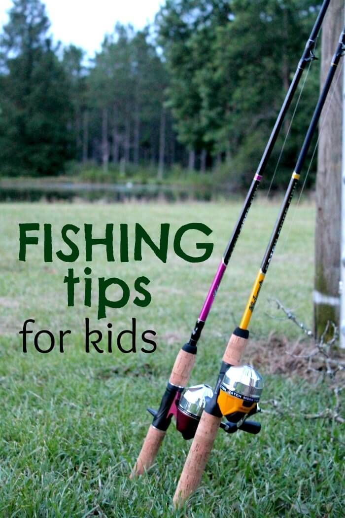 Great fishing tips for kids