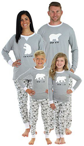 93a0fbe2f2a5 Sleepyheads Polar Bear Family Matching Pajama Set - Approx  30 each ...