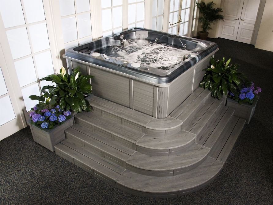 Creating The Perfect Space For Your Indoor Hot Tub Thermospas Hot Tub Room Hot Tub Indoor Hot Tub