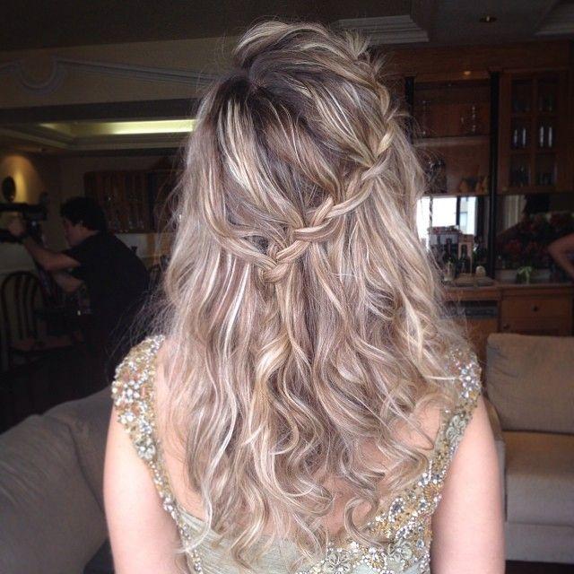 #hairdo #trança #cascata