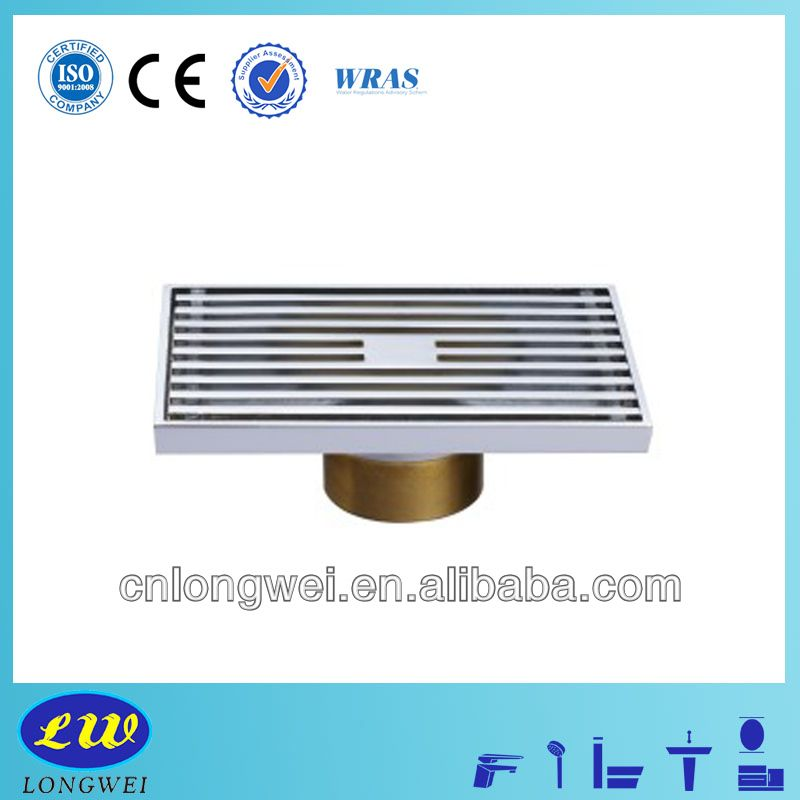 Brass rectangle linear floor drains  1.Material:Brass  2.Fashionable and useful design  3.Top quality,cheap price