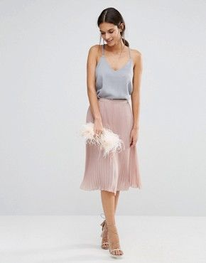 Discover Fashion Online | Outfit hochzeit, Chiffonrock ...