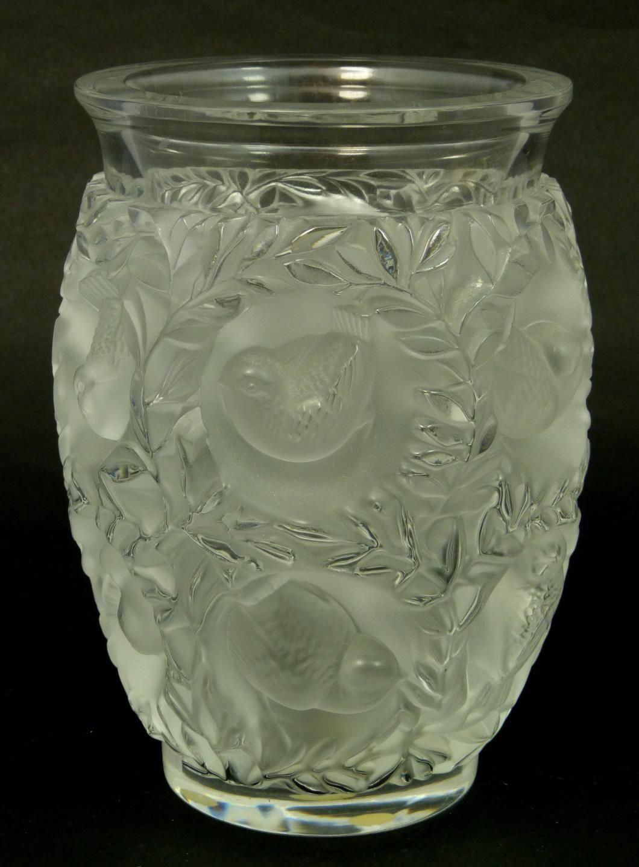 Large lalique bagatelle vase rene jules lalique pinterest large lalique bagatelle vase reviewsmspy