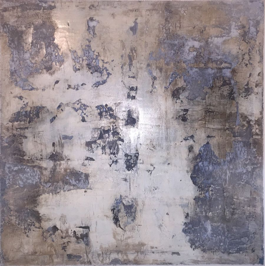 """gudrun tischler, wonderful-art, """"wahrnehmung"""" - 120x120, leinwand"""