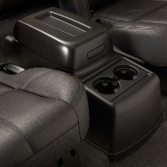 Add Functionality To The Open Space Between The 2nd Row Bucket Seats By Installing This Floor Console Kit Store C Chevy Accessories Gm Accessories Car Console