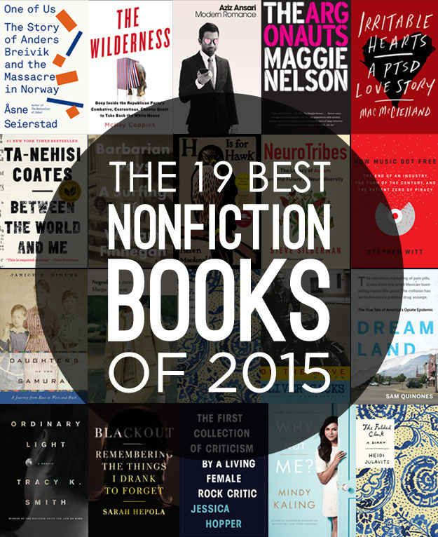 The 19 Best Nonfiction Books Of 2015
