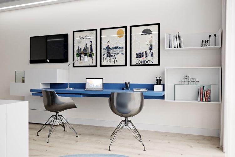 Arbeitszimmer Fur 2 Personen Einrichten Ideen Tipps Und