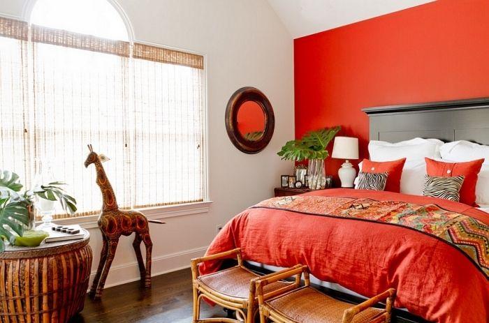 14 Schlafzimmer in Rot gestaltet – Romantisches Flair pur ...