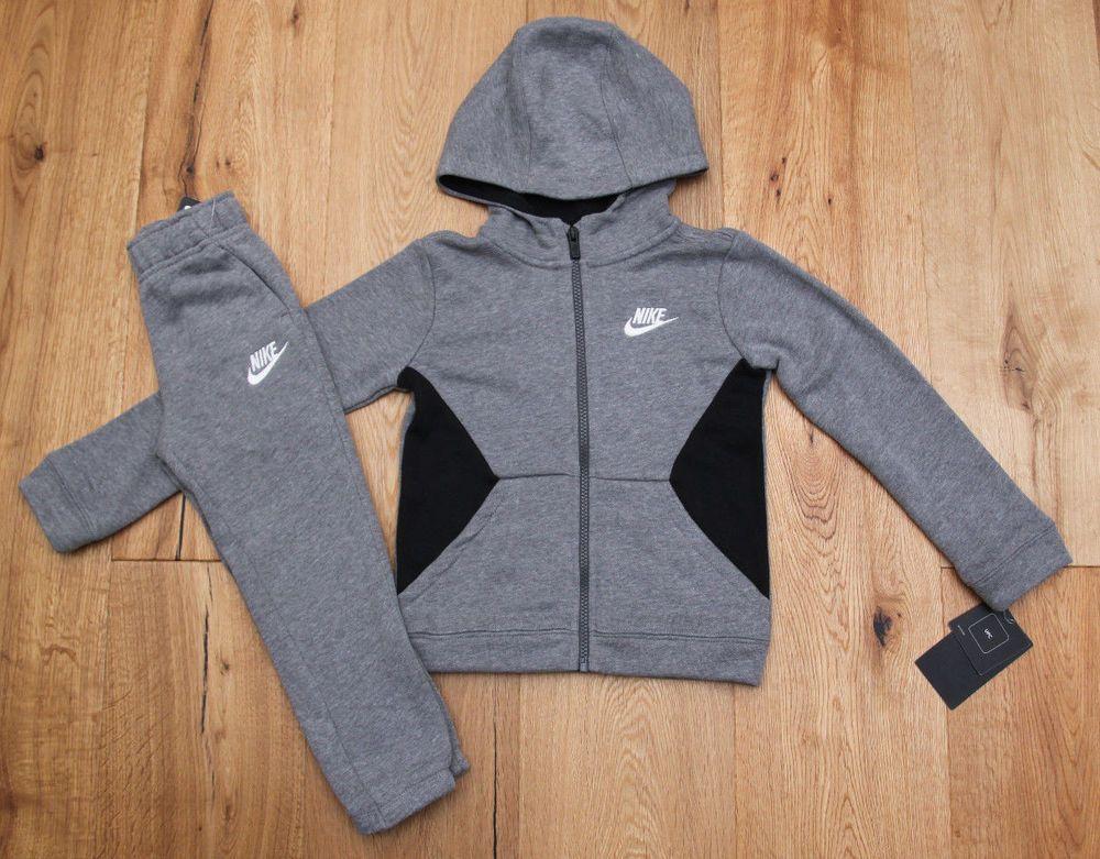 Air Jordan Toddler Boy 2 Piece Hooded Jogging Set ~ Gray