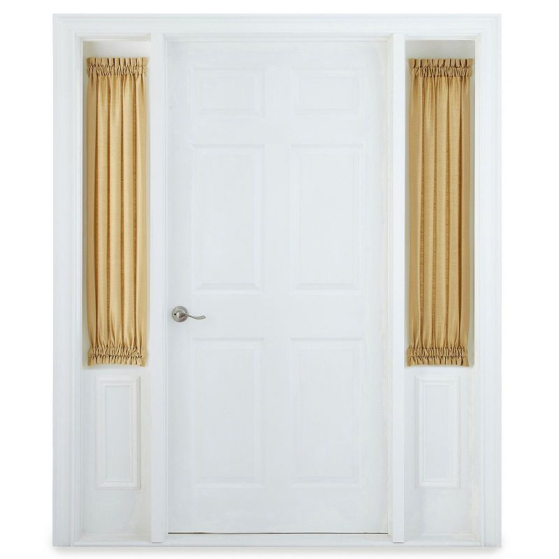 Jcpenney Home Supreme Rod Pocket Sidelight Curtain Sidelight