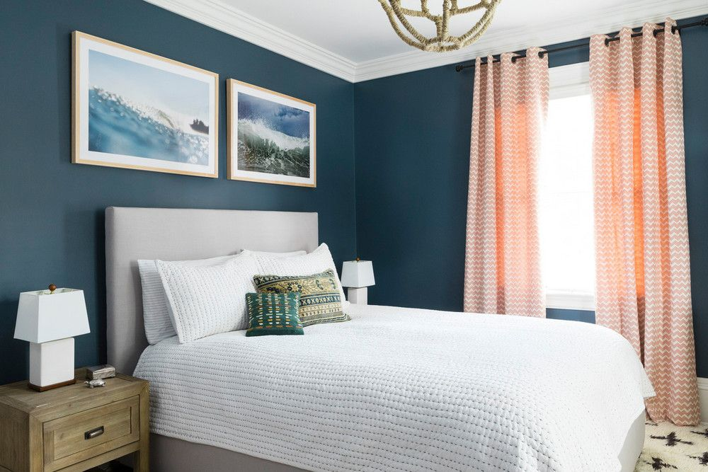 Realm Interiors Boston Home With San Francisco Design Style Navy