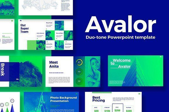 Avalor 10 Powerpoint Template Business Proposal Presentation