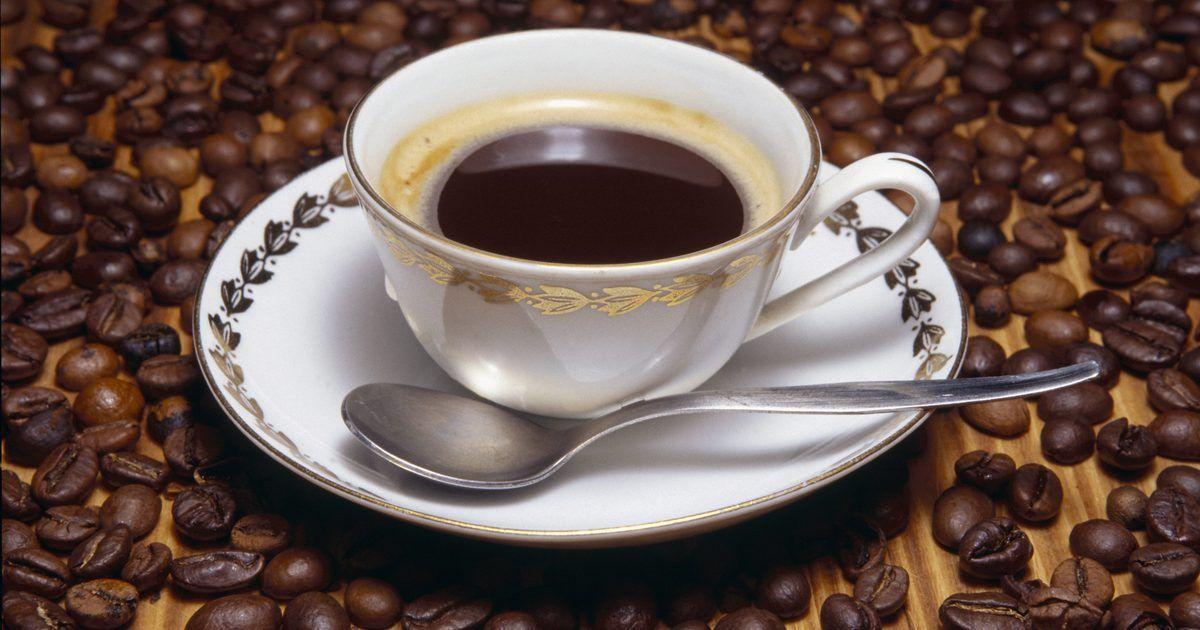 el cafe da alergia