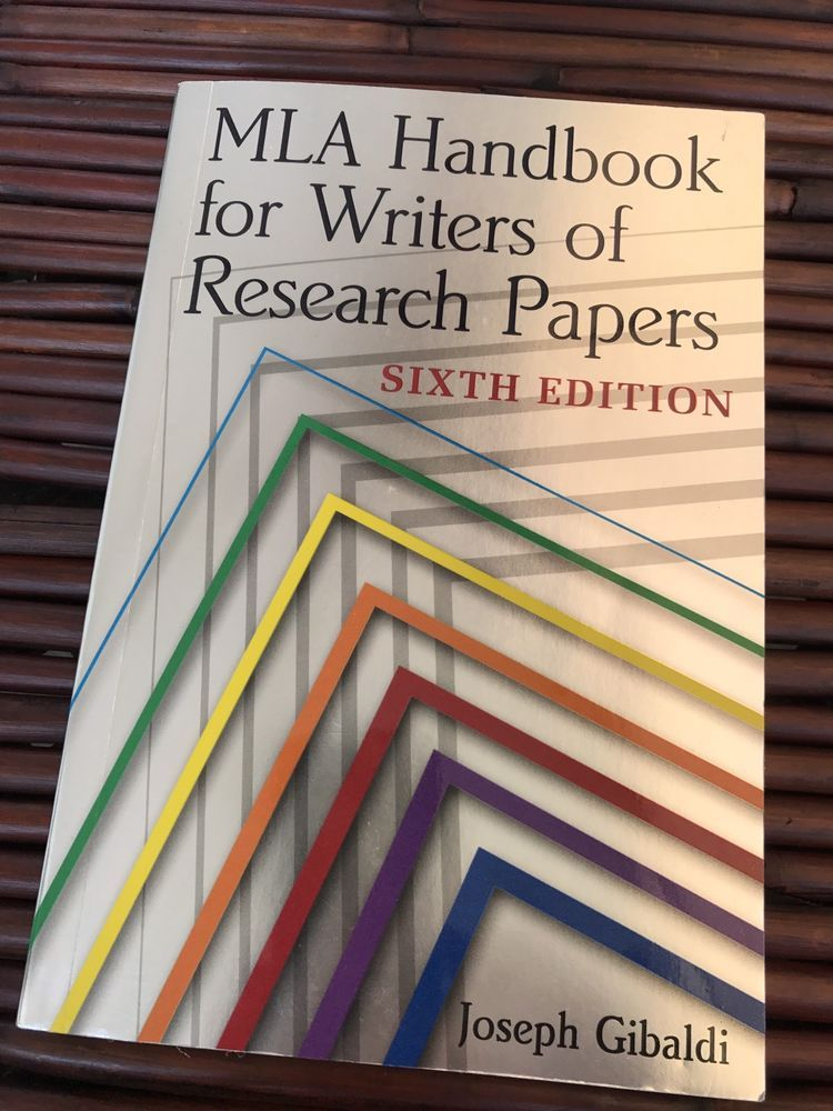 mla handbook for writers of research papers 6th edition pdf