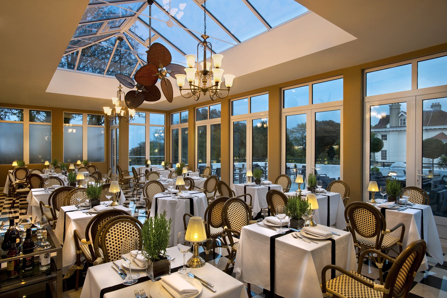 The Conservatory at The Duke of Richmond hotel offers